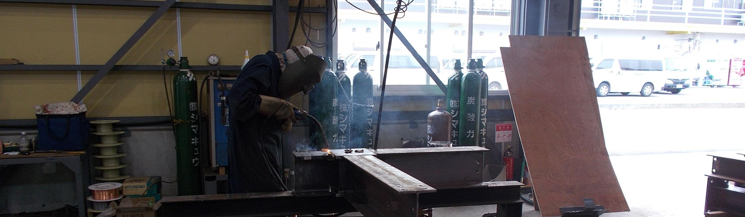 新潟県上越市にある上野工業|製作の様子